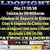 Destaque! Neste sábado (17) tem EldoFight, com 4 disputas de cinturões e lutas que prometem estremecer o Ginásio de Esportes Antonio Carrocini