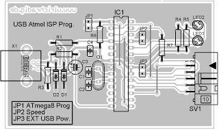 Membuat USB Downloader untuk Mikrokontroler AVR Atmega8/16