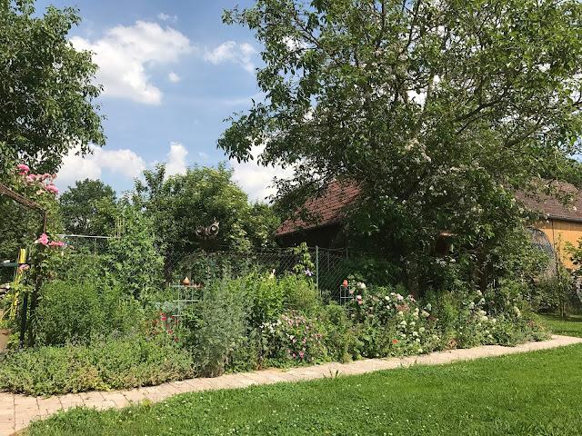 Staudenbeet im Landgarten