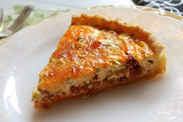 Mexican Style Quiche