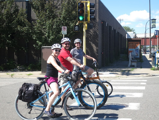 Bikes, Beverages, Breaks, Bites and Buddies: The Twin Cities Tour