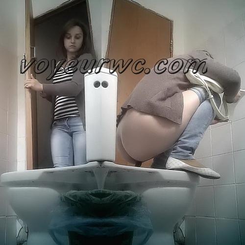 Pisswc Shit 10 (Hidden camera in the women's toilet. Pooping girls filmed on hidden camera installed in the women's restrooms)