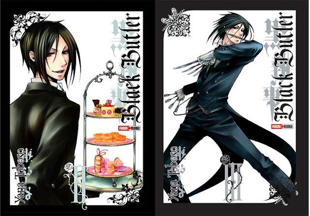 Black Butler 2 y 3- Yana Toboso