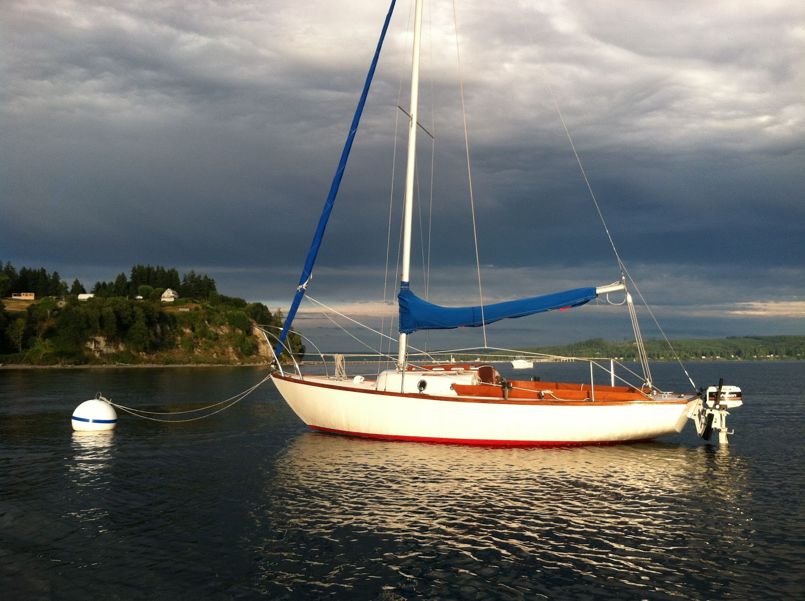 Our Cape Dory 27 August 2012