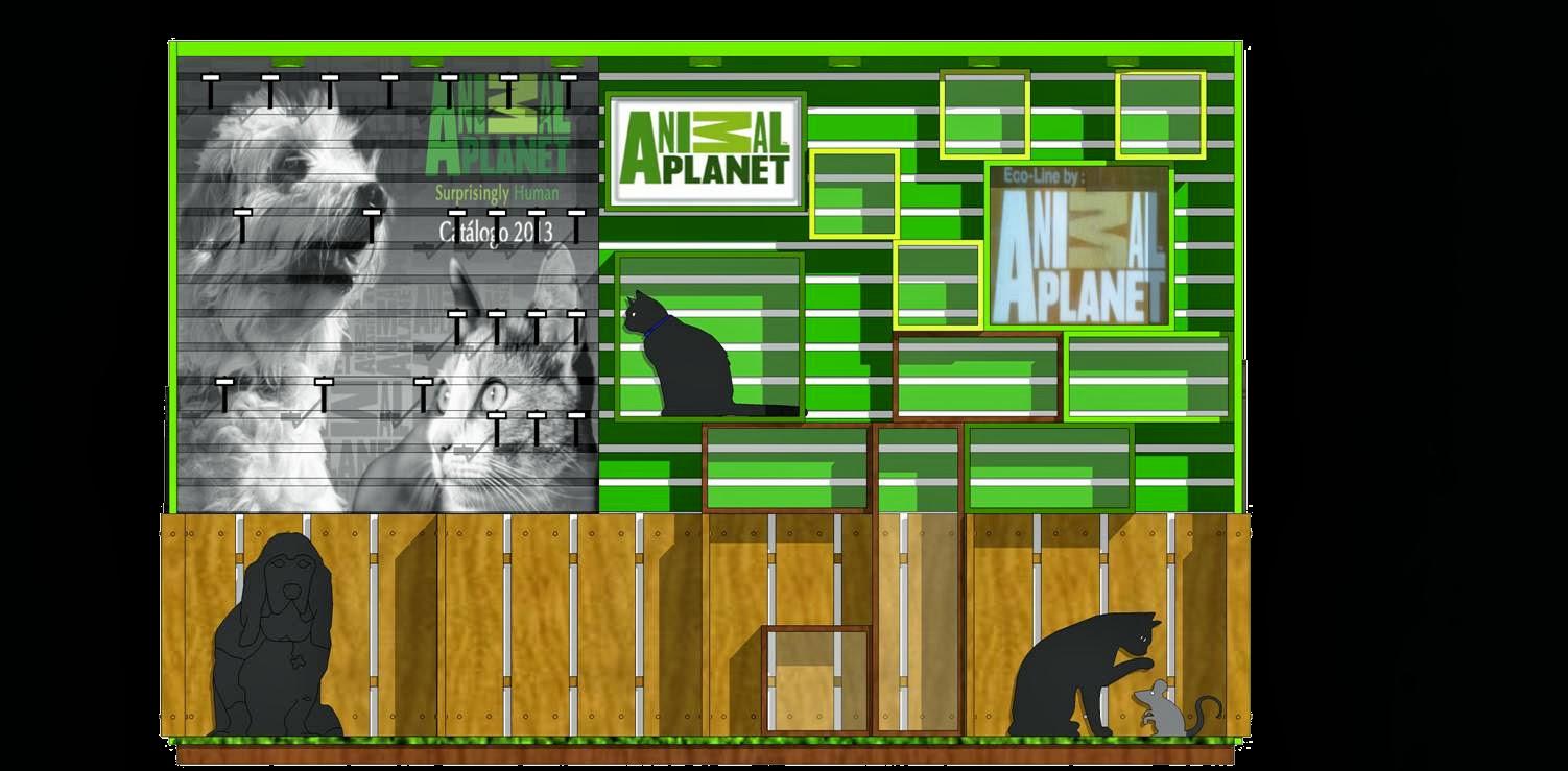 Book De Trabajos Mueble Animal Planet Supermercados
