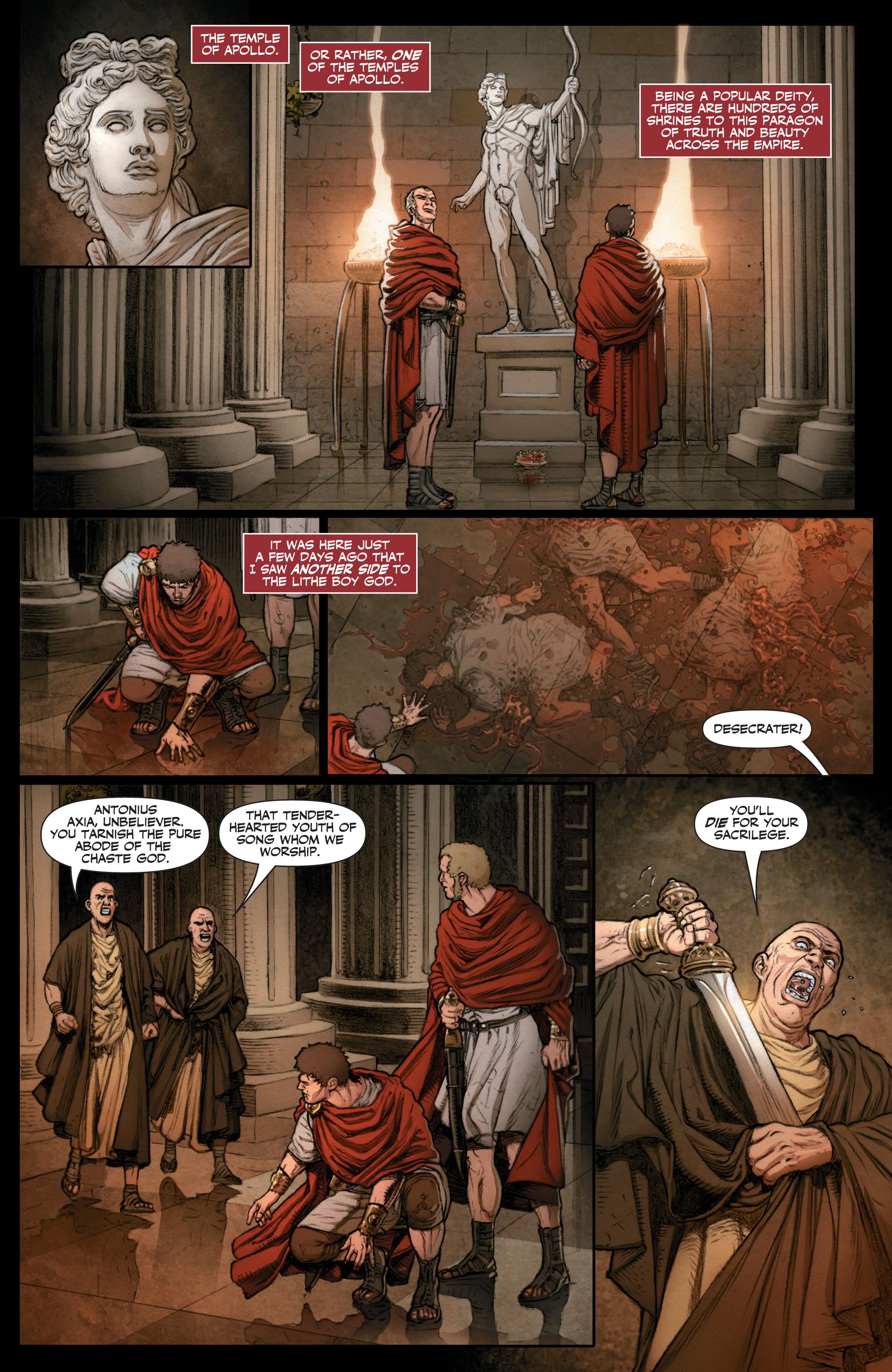 Read online Britannia: We Who Are About To Die comic -  Issue #3 - 20