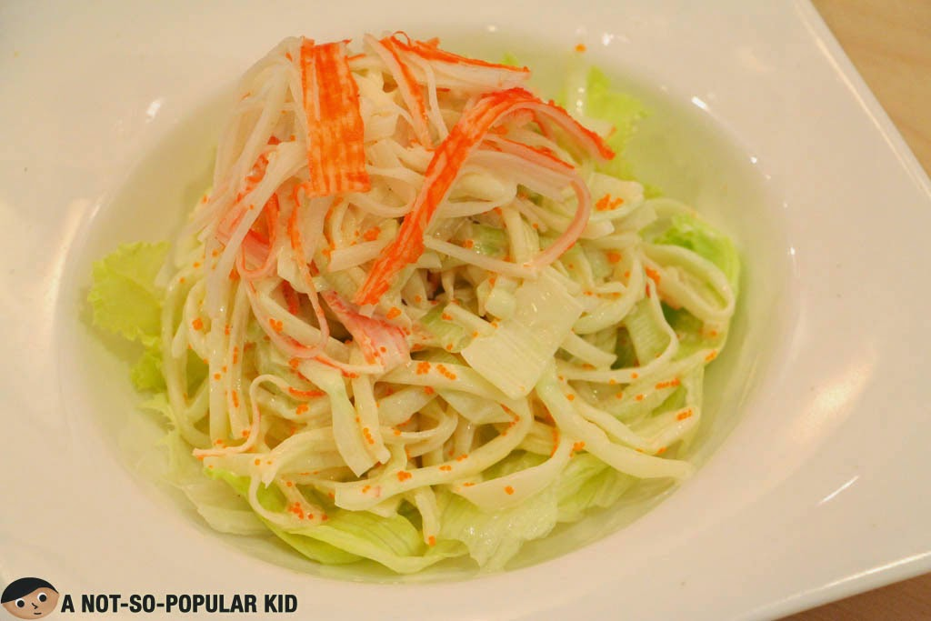 The plain Kani Salad of Ramen Cool in SM Manila