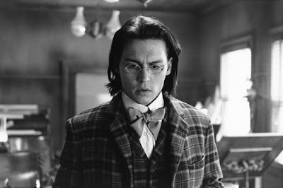 Johnny Depp as accountant William Blake in Dead Man, Dead Man (1995), Directed by Jim Jarmusch