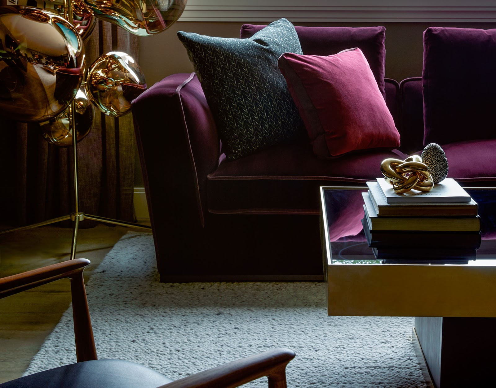 Bye Bye Gray Three Easy Ways To Introduce Jewel Tone Colors To