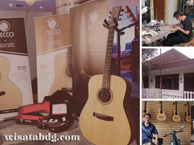 Secco, Produk Gitar Kelas Dunia dari Bandung