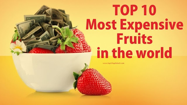Top 10 Most Expensive Fruits In The World | Expensive Fruits In Japan - Top 10 Updated