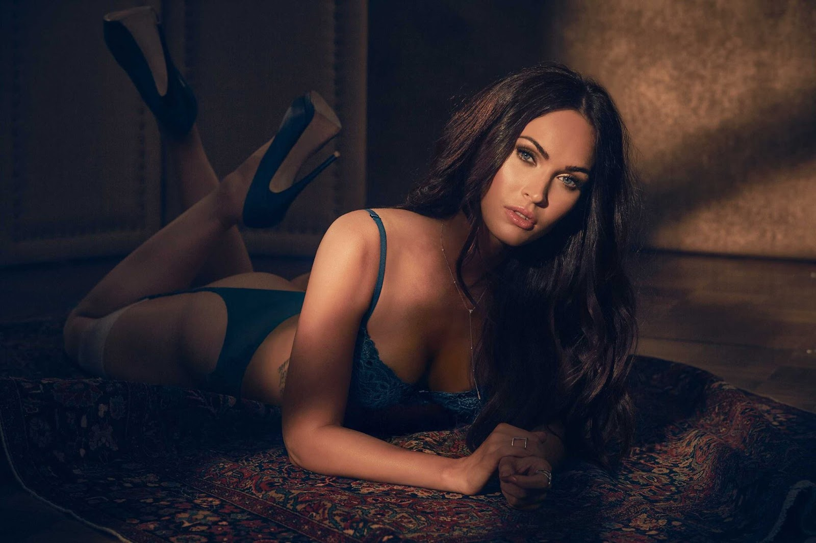 Fredericks of Hollywood Fall/Winter 2017 Lingerie Campaign featuring Megan Fox