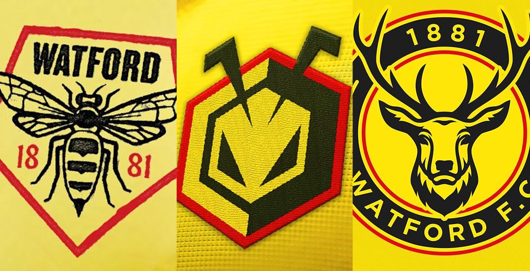 More Than 4000 Entries New Official Watford Fc Logo Design Competition Best Of Footy Headlines