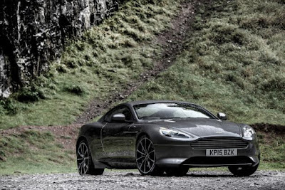 2016 new Aston Martin DB9 GT sportcar Performance front view