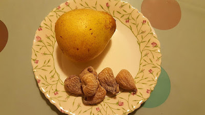 Healthy Snack: Pear & Dried Figs