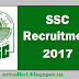 SSC Staff Selection Commission Recruitment 2017 Last Date For Apply