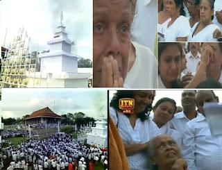 Pandit Amaradeva laid to rest at emotional funeral