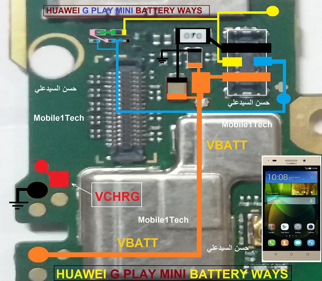 HUAWEI G PLAY MINI BATTERY WAYS | Mobile1Tech