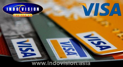 Promo Indovision Dengan Kartu Kredit Visa.