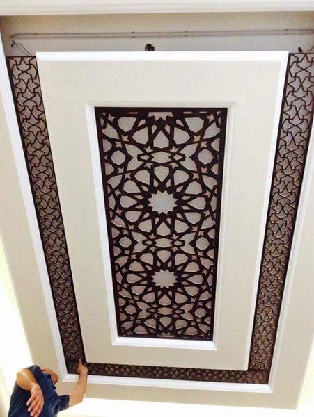 Plafond artisanal
