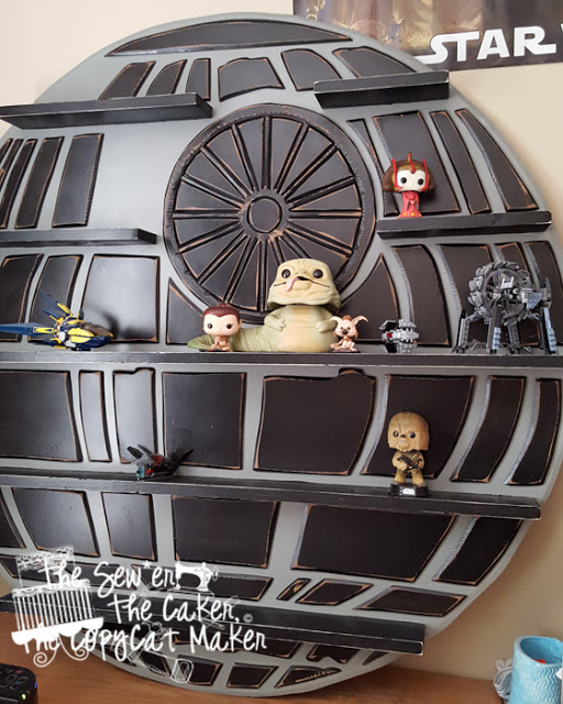 Epbot Our Diy Death Star Shelf Changes Colors Come See