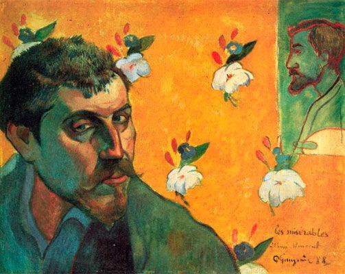Paul Gauguin, Self-Portrait 'Les Miserables' (1888)