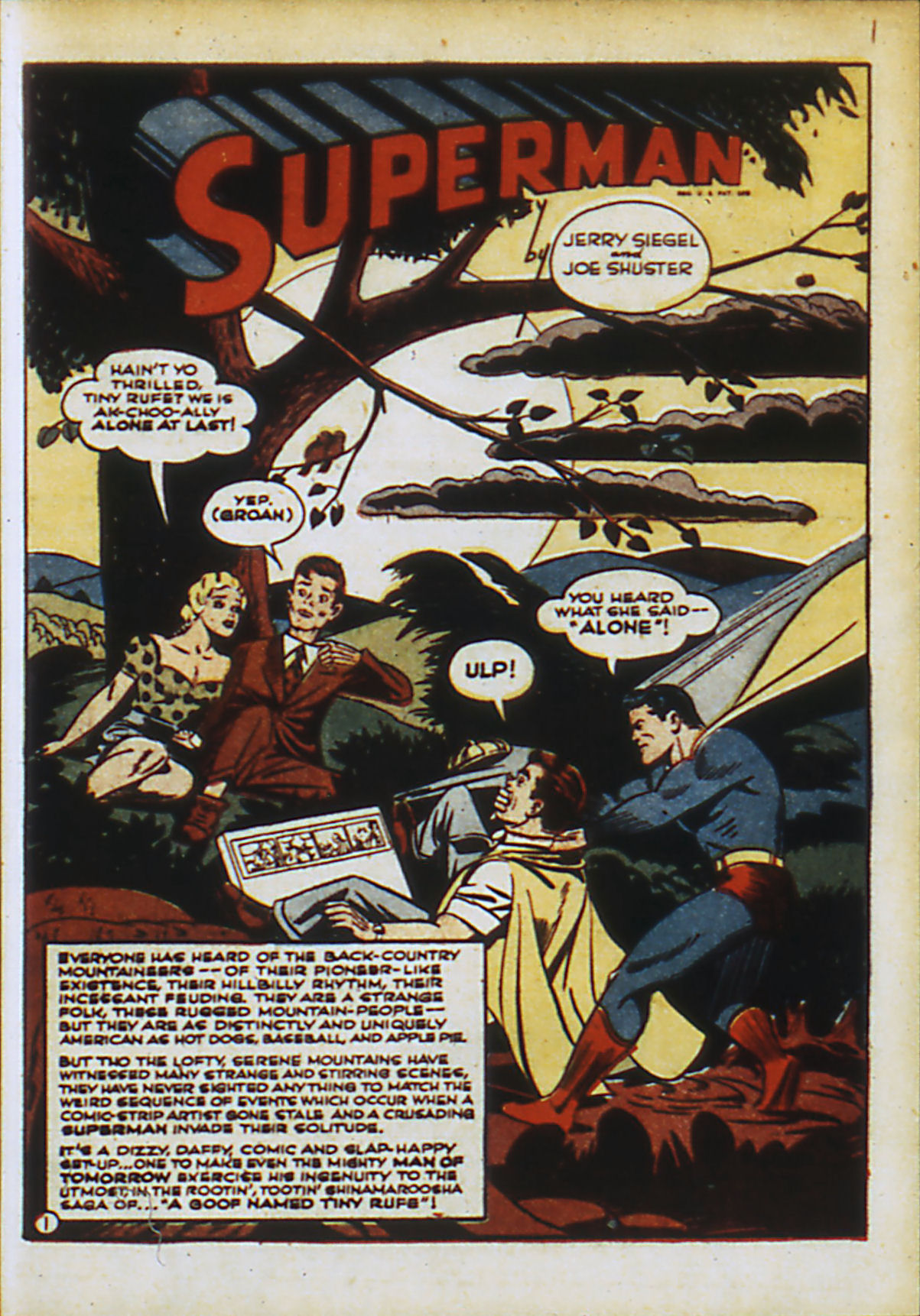 Read online Action Comics (1938) comic -  Issue #55 - 4