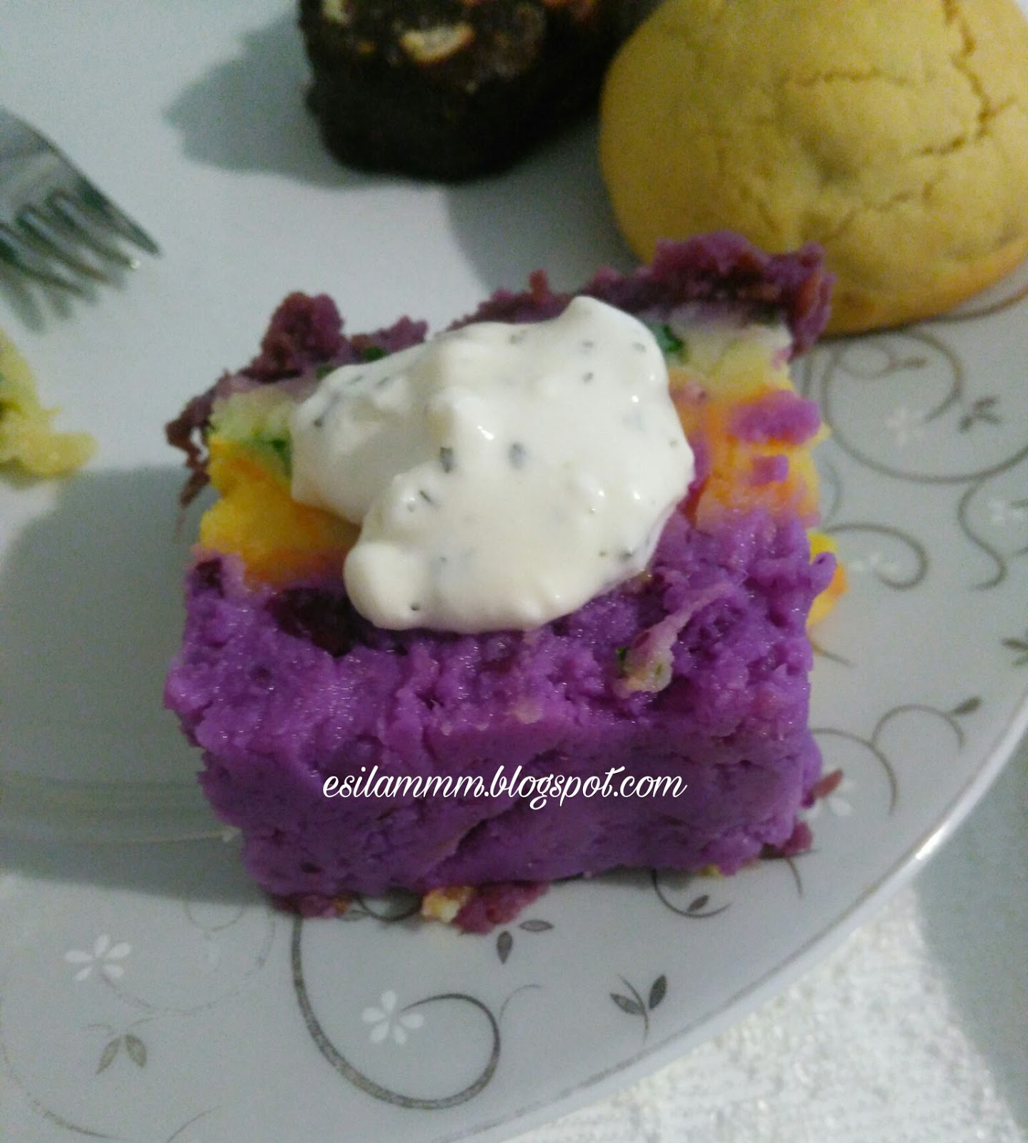 Renkli Patates Pastası