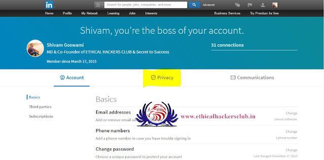 LinkedIn security 2