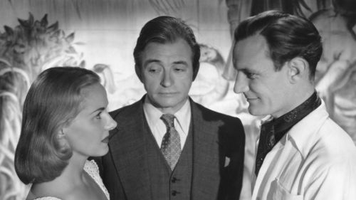 Ann Todd, Claude Rains and Trevor Howard