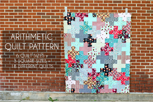 Arithmetic Quilt Pattern - In Color Order