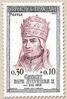 El primer papa francés