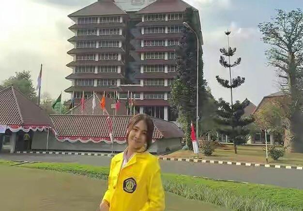 Erika Ebisawa Kuswan UI JKT48 Universitas Indonesia