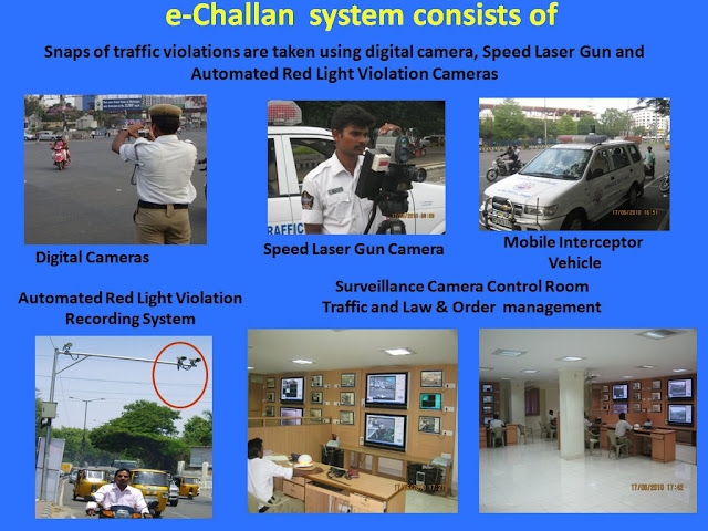 echallan and Spot challan difference