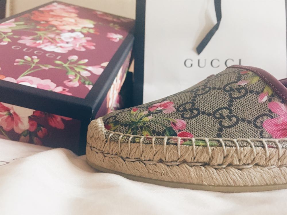 fd4d58ff981 I am thrilled with my Gucci bloom espadrilles and find myself reaching for  them all the time. I recommend getting your hands on a pair you will not  regret ...
