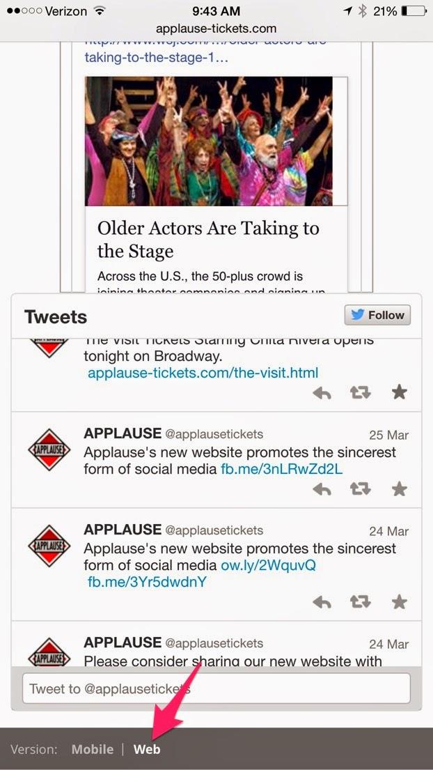 applau applaus text