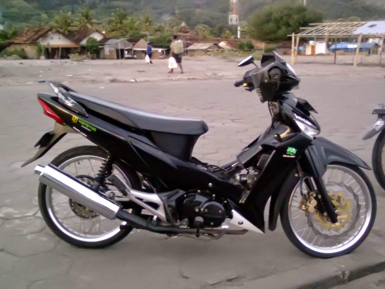 Top motor modifikasi supra x 125