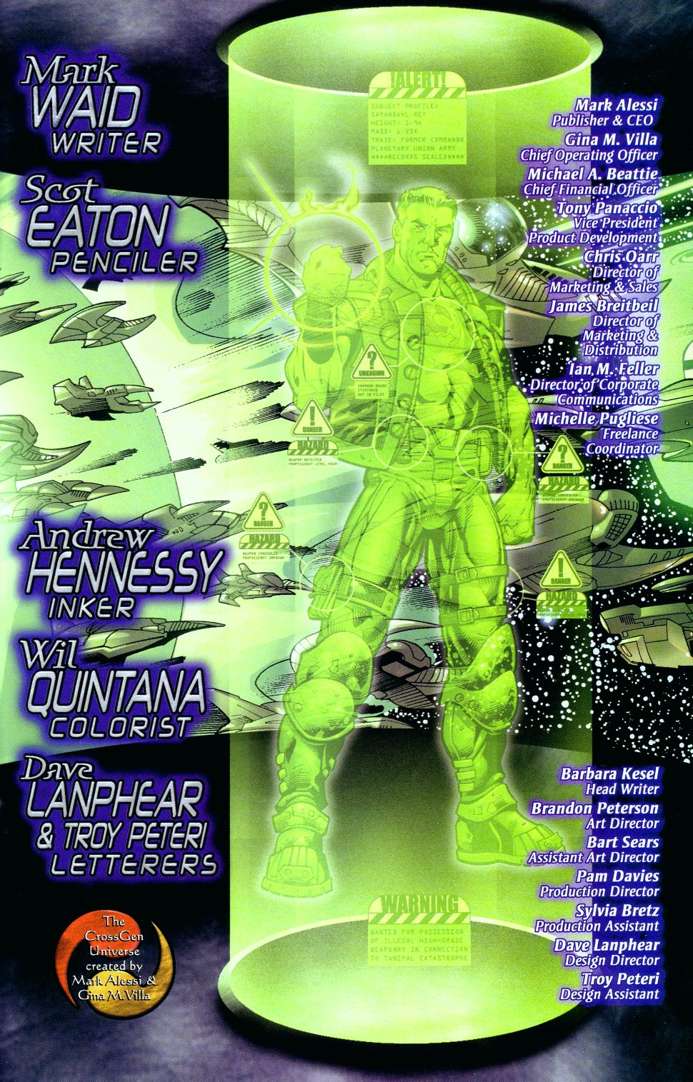 Read online Sigil (2000) comic -  Issue #16 - 22