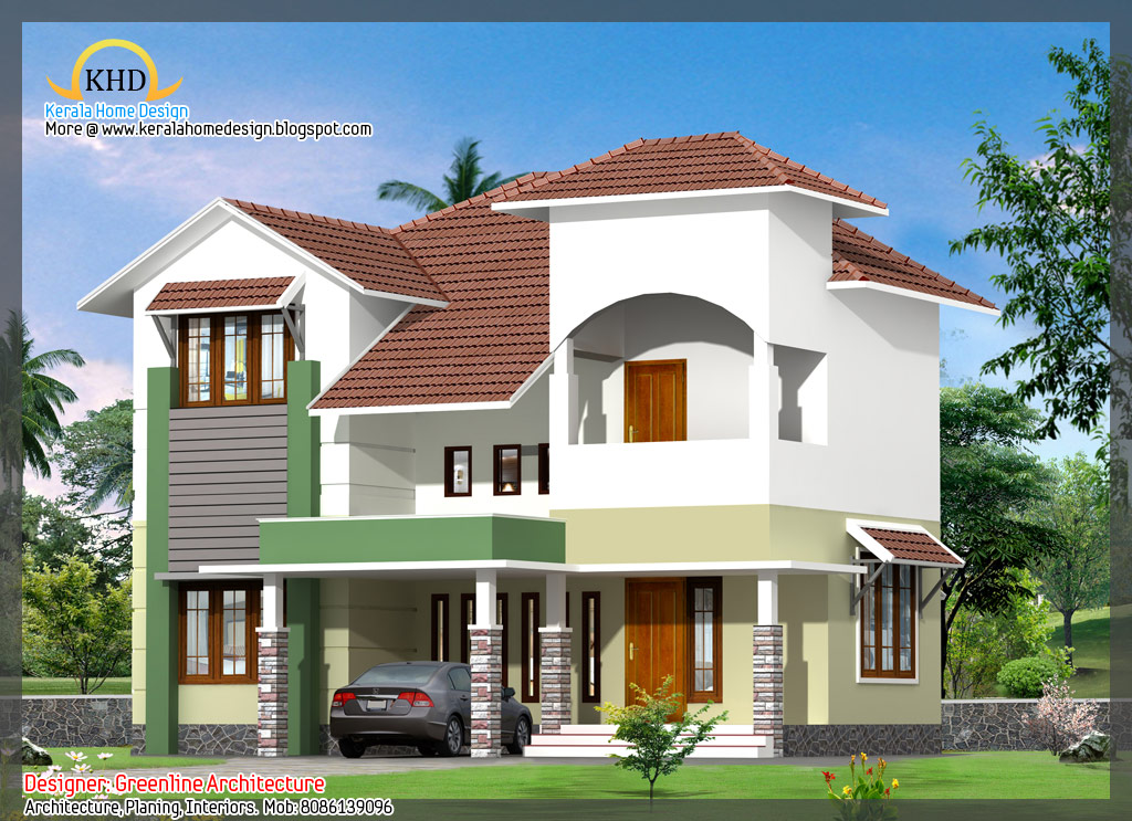 16 awesome house elevation designs kerala home design for Home floor designs image