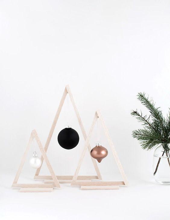 Árbol de Navidad sencillo y moderno
