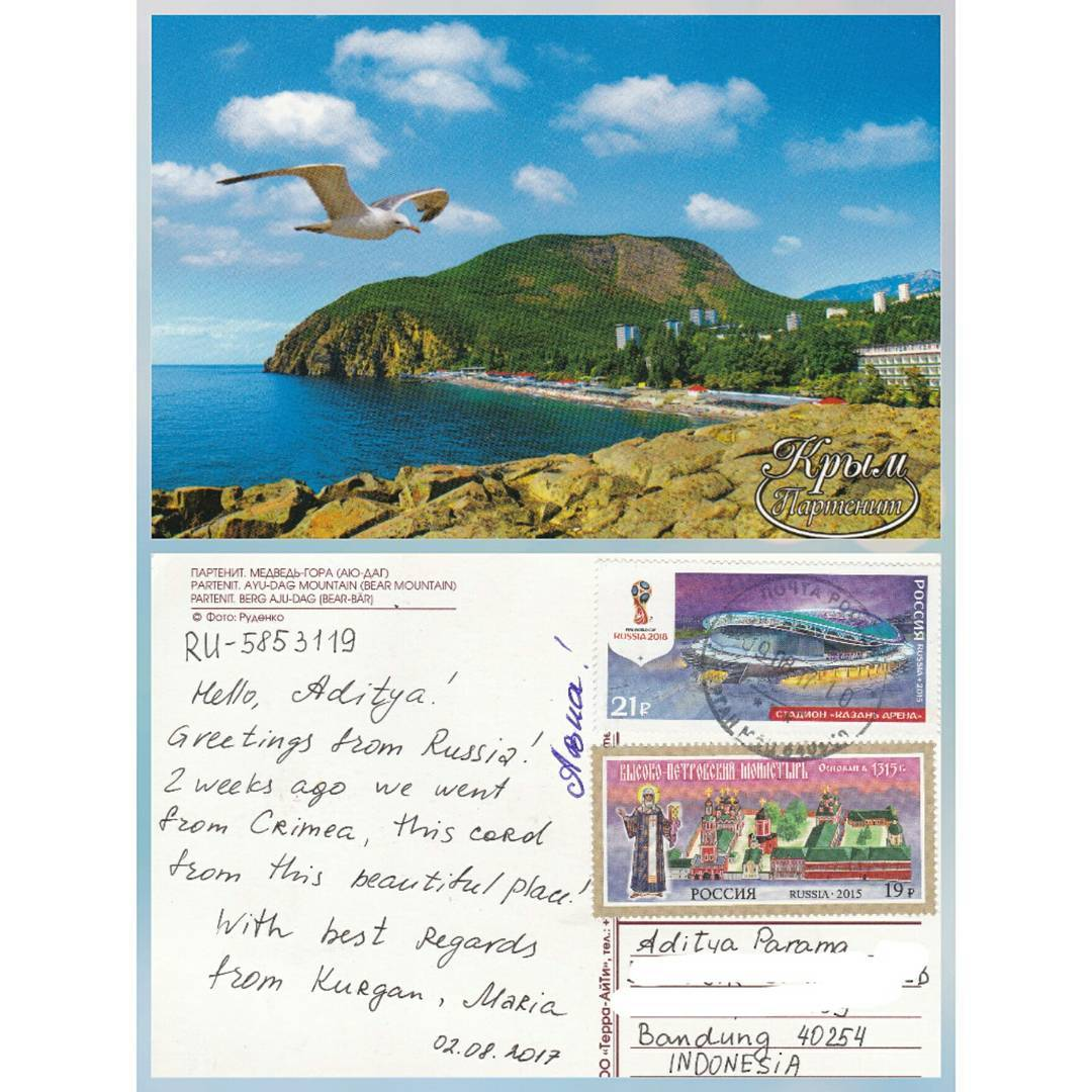 My Top 10 Postcards From Abroad