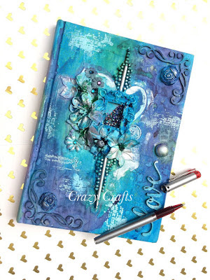 Mixed media notebook