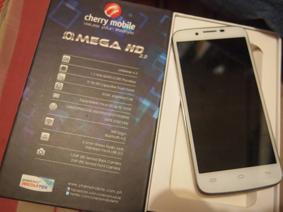 Cherry Mobile Omega HD 2.0 Specs