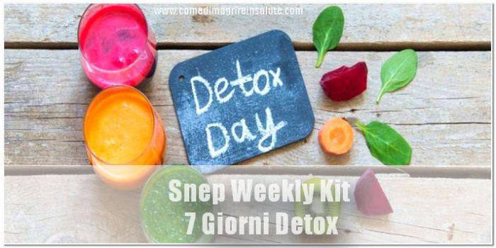 Snep Weekly Kit 7 Giorni Detox