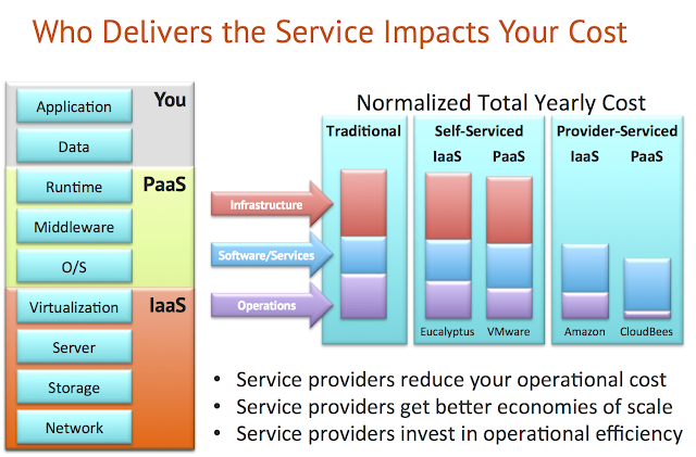 Paas cost service