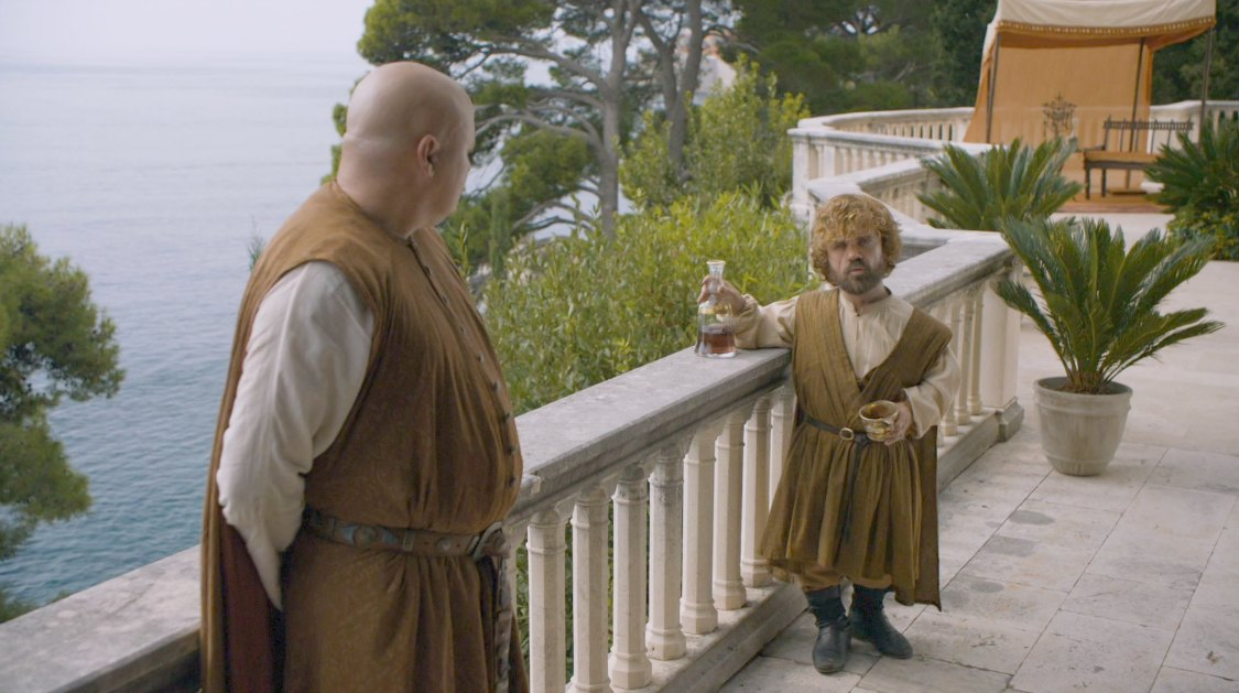 Varys and Tyrion in Pentos - Game of Thrones