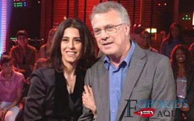 ex casal Fernanda Torres e Pedro Bial