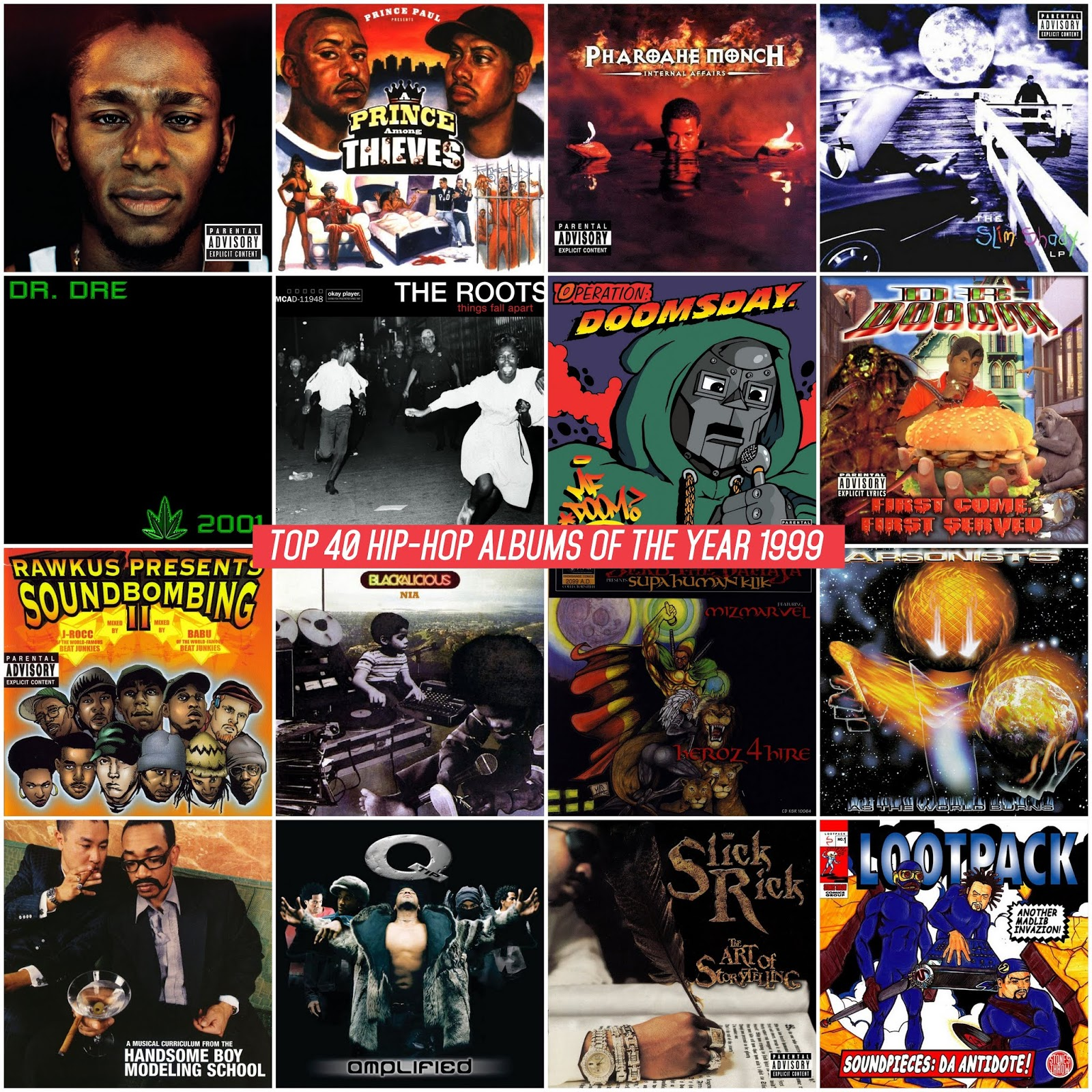 Top 40 Hip-Hop Albums of the Year 1999 | Mediafire / MEGA | 320 kbps