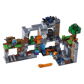 Minecraft The Bedrock Adventures Lego Set
