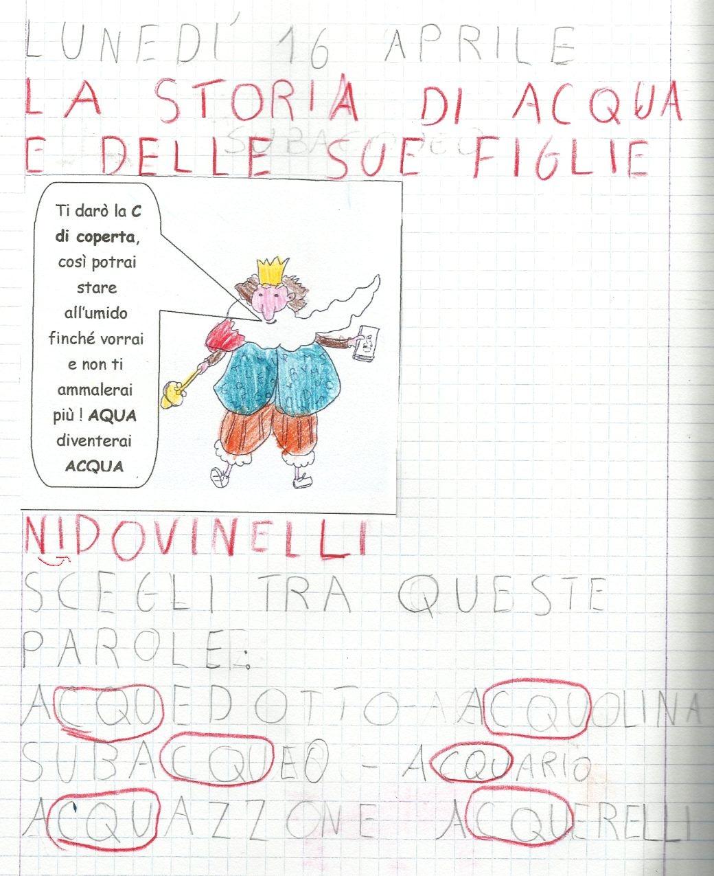abbastanza la maestra lorelore: La Storia Della Famiglia Acqua - The History  KH49